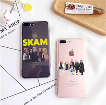 Norwegian TV Skam Fashion Phone Case Gay Soft Silicone TPU Cover For iPhone 7 7Plus  6S 6 Plus 5S 5 SE Back Cover Fundas Coque