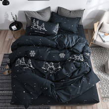 Snowflake Christmas Girl Boy Kid Bed Cover Set Duvet Cover Adult Child Bed Sheets Pillowcases Comforter Bedding Set 2TJ-61007(China)