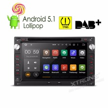 XTRONS 7 inch 2 din Android 5.1 Radio Car DVD Player GPS Navigation For Volkswagen vw BORA PASSAT JETTA GOLF SHARAN/Seat/Skoda(China)