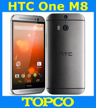"HTC One M8 32GB Original Unlocked GSM 3G&4G Android Quad-core RAM 2GB Mobile Phone 5.0"" WIFI GPS Dual 4MP 3 cameras dropshipping"