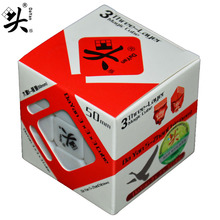 50mm Dayan Zhanchi Magic Speed Cube Puzzle Ultra-smooth Cubo Magico Classical Stickers Toys For Children 3x3x3 Cube(China)