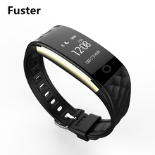 Fuster S2 Music Camera Bluetooth Remote Control Smart Bracelet Calls Message Reminder Band Whatsapp Facebook Alert Wristband(China)