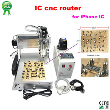 IPhone IC router ! 3020 engraving machine , CNC milling / polishing Machine for iPhone Main Board Free ship & No tax to Russia