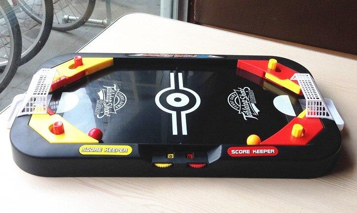 Desktop battle in soccer ice hockey table ball shoot mini