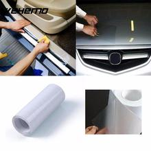 Vehemo 3 Meters Rhino Leather Skin Car Bumper Hood Paint Protect Sticker Protective Film Vinyl Clear Transparent