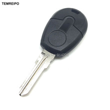 TEMREIPO 25pcs/lot New style Replacement Car Key For Fiat transponder Key Shell Blank Key No Chip Fob with logo