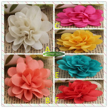 5cm 25pcs Silk Artificial Rose Flower Head Christmas School Wedding Party Decor to Woman Hair Clothes Brooch Shoe 6 Color Fl5120