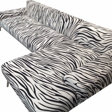 Black stripes corner sofa cover for living room 100% polyester elastic couch sofa cover multi-size home decoration slipcovers