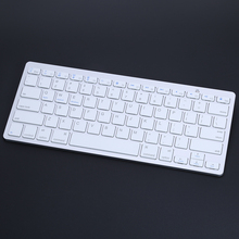 78keys English version key board Mini Wireless Bluetooth 3.0 Slim Keyboard For Mac Windows PC Tablet(China)