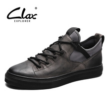 Buy CLAX Mens Casual Shoes Fashion Spring Autumn Shoe Male Genuine Leather British Leisure Footwear Breathable Soft Walking Shoe for $43.51 in AliExpress store