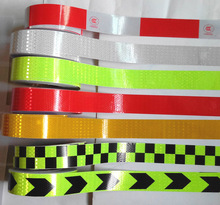 5CMx400CM,Reflective adhesive tape, Reflective tape sticker for Truck,Car,Motorcycle,Bike, safety use,13 models,Free shipping.(China)