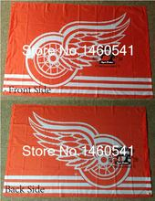 Detroit Red Wings Flag 3ft x 5ft Polyester NHL Banner Detroit Red Wings Flying Size No.4 144* 96cm QingQing Flag
