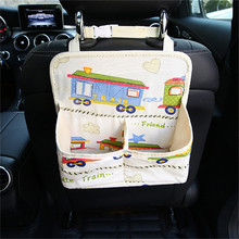 Storage Box Portable Organizer Car Seat Back Storage Bag  Cartoon Car-styling Box Large Capacity YL892394