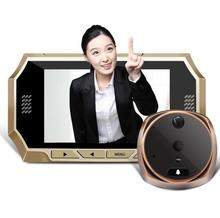 4.3 inch  Video Doorbell,Phone Intercom System Peephole Viewer,LCD Digital Home Security Color IR Camera Door Eye