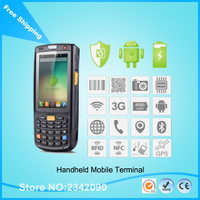 Lower Price iData95v 1D Laser image Handy Rugged Terminal For Barcode Scanner With 4GB Memory quad-core 1.2 GHz GPS Wifi 3G