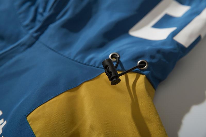 Color Block Patchwork Half Zipper Pullover Jackets 5