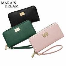 Mara's Dream 2017 Top Quality Guarantee Lady Women Purse Clutch Wallet Small Bag Card Holder Handbag Purse Female Wallets