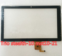 "10.1inch for Trio stealth-10 mst10-21 10.1"" USA tablet pc capacitive touch screen glass digitizer panel(China)"