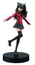Fate Stay Night Tohsaka Rin Action Figure Model Toys Miniature Figurine Home Garden Decor Kid Gift FT14(China)