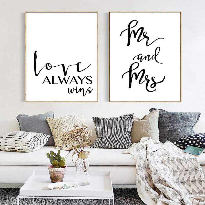 Mr-Mrs-Love-Wall-Picture-For-Room-MakeUp-Beauty-Eyelash-Decorative-Painting-Print-Poster-Canvas-Painting (3)