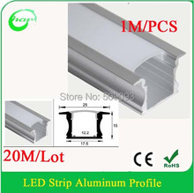 Recessed Led Aluminum Profiles for office  Recessed Profiles for home ceiling lighting Length can be customized