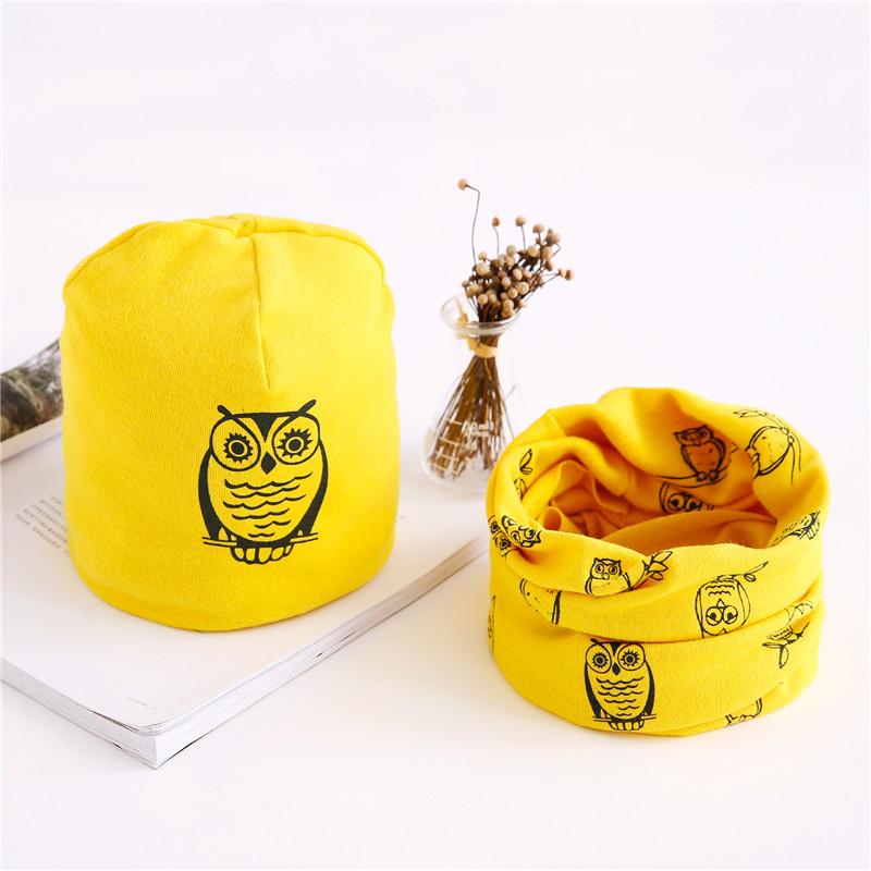 owl yellow set