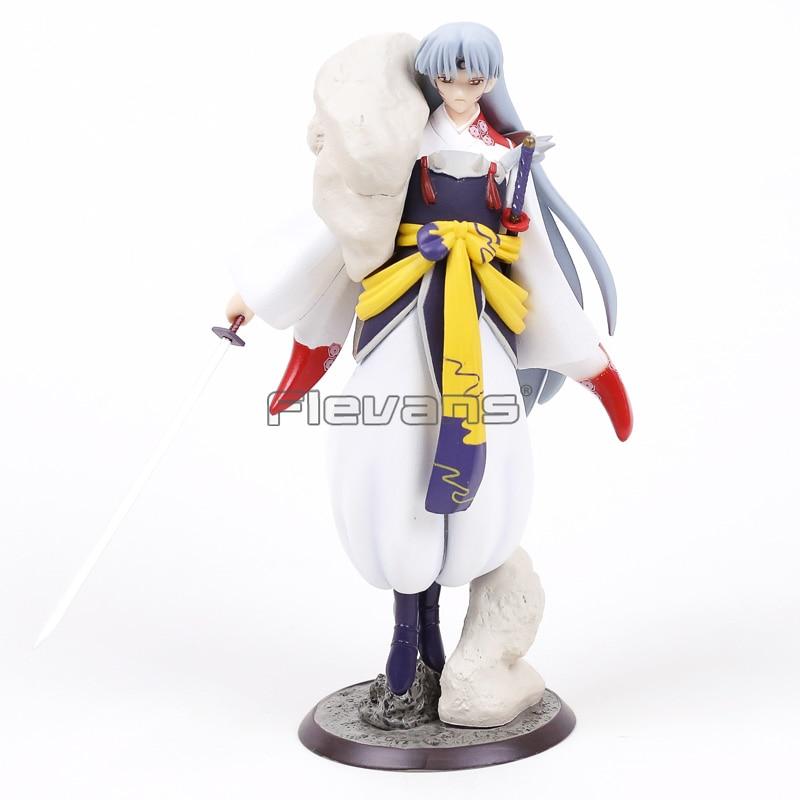 Anime Inuyasha Sesshoumaru PVC Figure Collectible Model Toy 22cm<br>