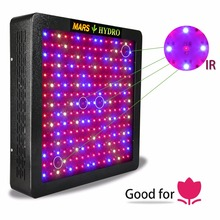 Mars Hydro Mars II 1200 Full Spectrum LED Grow Light,Veg and Bloom,Hydroponic System(China)