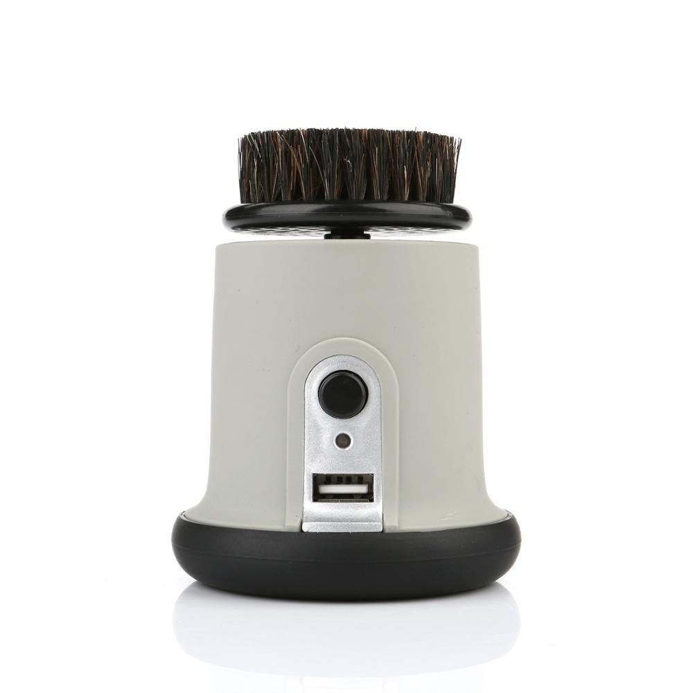 1500mAh 800RPM Lithium Battery charging shoe polishing machine ABS material USB connector Electric shoe brush<br>