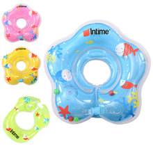 Baby's Floating Swim Ring PVC Inflatable Shoulder Strap Swimming Ring Life Vest Summer Circle Ring(China)