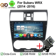 1024*600 9 inch Octa Core Android 6.0.1 2GB RAM Head Unit Fit For Subaru WRX 2014 2015 2016 Car DVD Player Navigation GPS Radio