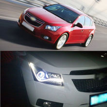 Arrogance CCFL Angel Eye Projector LED DRL Headlight for Chevy Cruze 2011-2012