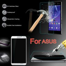 Tempered Glass For Asus Zenfone 2 Laser GO ZC520TL Ze500KL Ze601KL Selfie 3 Max Zc520TL zb500kl zb452kg zc550kl ze551ml zb552kl(China)
