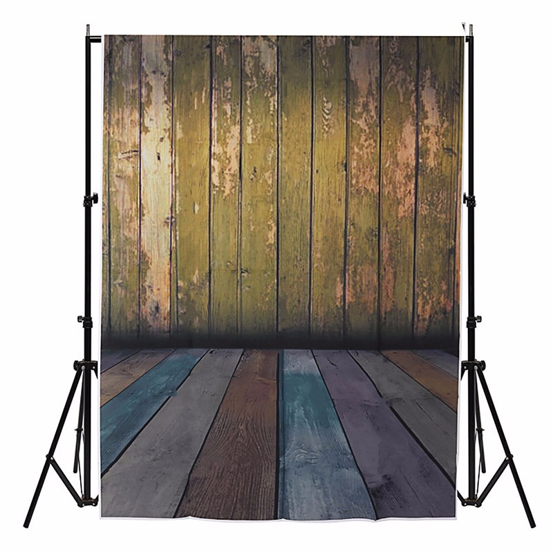 3x5ft Vinyl Photography Background For Studio Photo Props Wooden Wall Floor Photographic Backdrops cloth new 1X1.5m<br><br>Aliexpress
