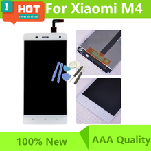 "5"" inch For LCD For Xiaomi Mi4 M4 LCD Display Touch Screen Panel Assembly Mobile Phone For Xaomi Mi4 M4 LCD Screen Free Shipping"