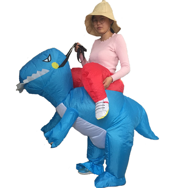 The Hot Sell Inflatable Dinosaur Costume Animal Costume Halloween Costume For Adult (4)