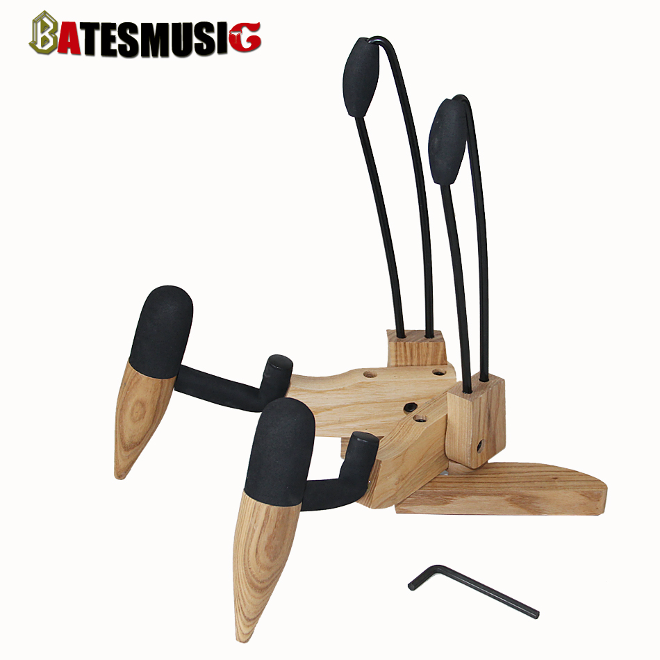 Electric guitar / bass stand innovative design natural WOODIE-2 guitar stand finish friendly High-end stand<br><br>Aliexpress