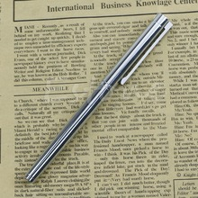 Hot New Jinhao 126 Executive Complete Silver Fine Hooded Nib Fountain Pen(China)
