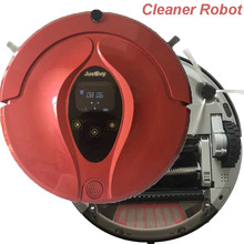 Robot Vacuum Cleaner with Wet/Dry Mopping Function, Clean Robot Aspirator Time Schedule,LCD,Auto-Recharge(China)