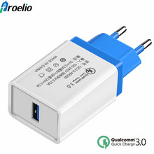 Buy Proelio Quick Charge QC 3.0 Travel Mobile Phone Fast Charge USB Charger Output3.5A 2.0 Compatible Samsung Xiaomi 5 Huawei lg for $2.99 in AliExpress store