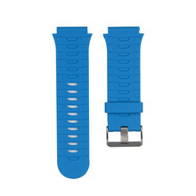 Watches Accessories Watchbands Durable Soft Silicone Strap Replacement Watch Band Lugs Adapters For Garmin Forerunner 920XT(China)