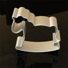 Free Shipping The Kids Love's Carousel Horse Shape Metal Cutter Cookie DIY Fondant Cake Mold Decorating Baking bake Tool D880
