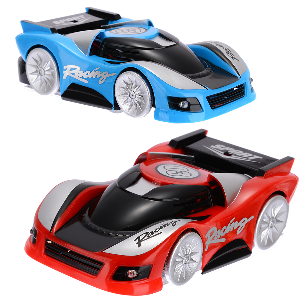 New Arrival 1 Set Wireless Remote Control Wall Climbing Climber RC Racing Car Radio Kids Toy For Children