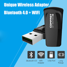 COMFAST 150mbps usb bluetooth 4.0 wireless adapter wifi dongle mini adapter pi wifi usb PC network card CF-WU725B