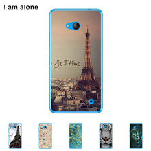 For Microsoft Nokia Lumia 640 5.0 inch Cellphone Cover Mobile Phone Protective Skin Color Paint Bag Shipping Free