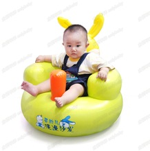 Baby Seats & Sofa Activity & Gear portable Baby inflatable sofa chair bath chair environmental friendly PVC material plastic new(China)