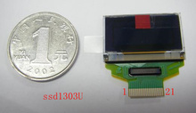 1 lots oled IC SSD1303U 21pin ritdisplay 96x39 pixels Yellow blue oled display with FFC/FPC connector ssd1303(China)