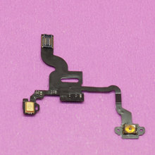YuXi 1x Brand New Power Button Flex Cable Ribbon Light Sensor Power Switch On / Off Replacement for iPhone 4 4G