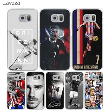 Lavaza Antoine Griezmann Soccer Star Hard Transparent Cover Case for Samsung Galaxy A3 A5 J5 (2015/2016/2017) & J3 J5 Prime J7(China)