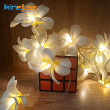 Creative  LED String Lights, AA Battery floral holiday lighting, Event Party garland decoration,Bedroom decoration
